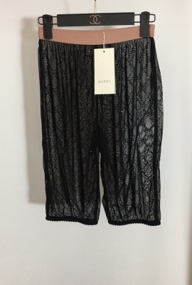 GUCCI EMBELLISHED SHORT PANTS