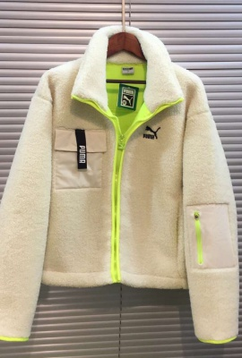 PUMA LAMB FLEECE COAT