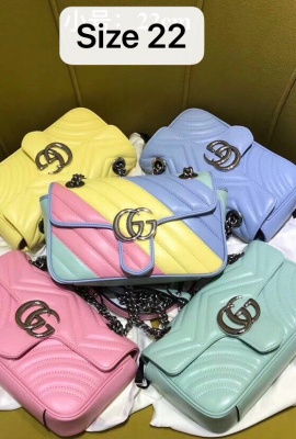 GG MARMONT PASTEL STYLE SHOULDER BAG