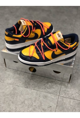 NIKE x OFFWHITE SB DUNKS LOW TOP SNEAKERS