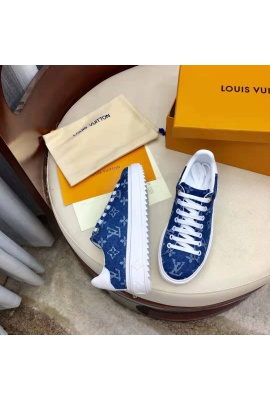 LV BLUE JEANS TRAINERS